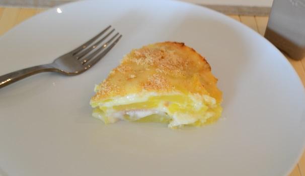 sformato di patate con prosciutto e formaggio_