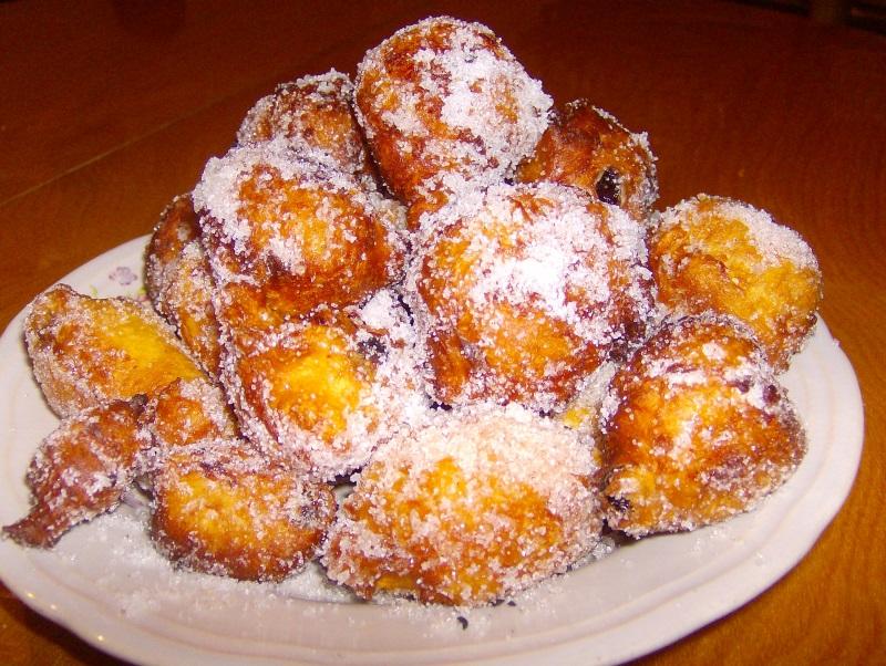 frittelle dolci di pane