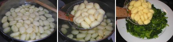 gnocchi con friarielli e cipolla_procedimento5