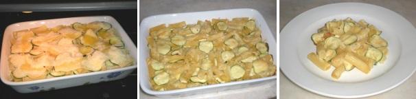 pasta al forno con zucchine e gouda_procedimento6