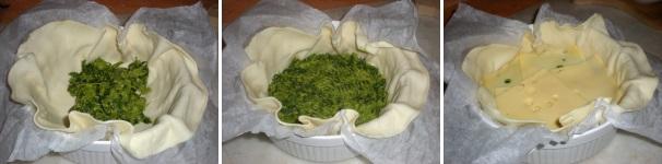 torta cime di rapa emmenthal_ procedimento4