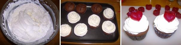 cupcake al cioccolato mascarpone_procedimento4