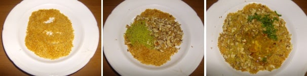filetti di merluzzo gratinati con frutta secca_procedimento2