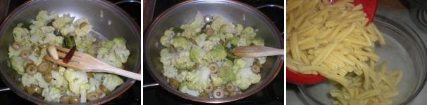 pasta al forno con cavolfiore e scamorza_procedimento5