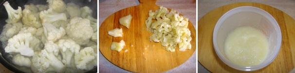 pasta con cavolfiore e salsiccia_procedimento1
