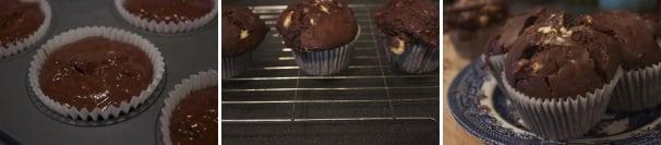 muffin al triplo cioccolato_procedimento3