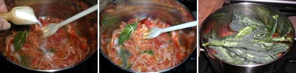 zuppa i cavolo nero e fagioli_procedimento6