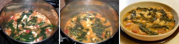 zuppa i cavolo nero e fagioli_procedimento9
