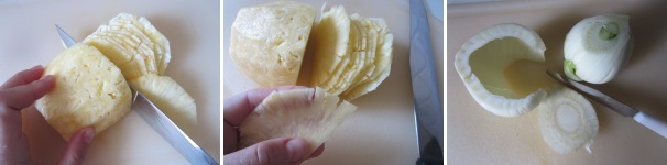 carpaccio ananas e finocchio_procedimento4