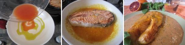 salmone con salsa di arance_procedimento5