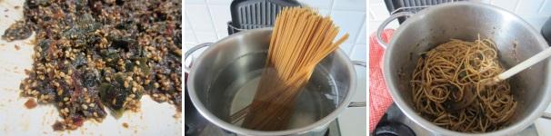 spaghetti con alghe_procedimento5