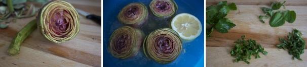 carciofi al forno_procedimento1