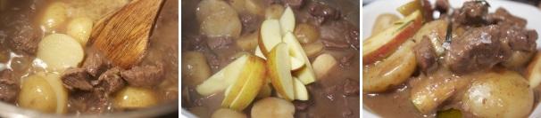spezzatino con patate e mele_procedimento3