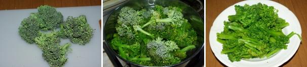 pasta con broccoletti e pecorino_procedimento1