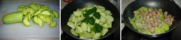 pasta zucchine e salsiccia_procedimento2