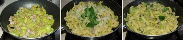 pasta zucchine e salsiccia_procedimento3