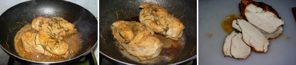 petto di pollo al vino_procedimento3