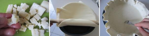quiche di porri e formaggio_procedimento3