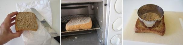 toast integrale con uovo_procedimento1
