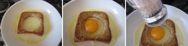 toast integrale con uovo_procedimento3