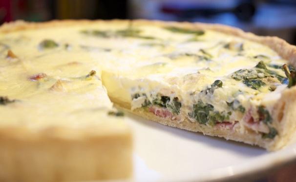 torta salata con scalogno e pancetta_
