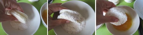 mozzarella in carrozza_proc3