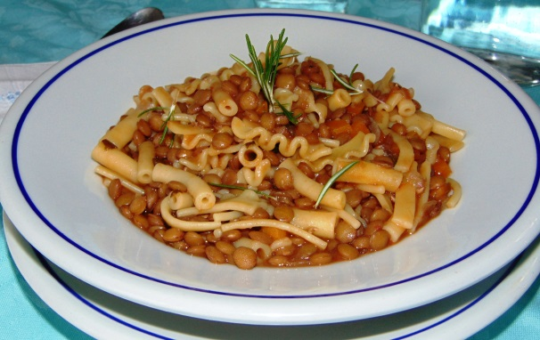 pasta e lenticchie_