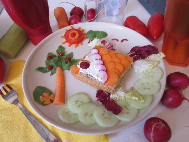 Piatti divertenti per bambini il pesce tropicale for Ricette per bimbi