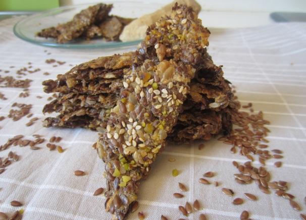 crackers ai semi di lino_