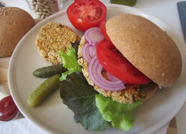 hamburger vegano_