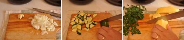 vellutata di patate e zucchine_proc1
