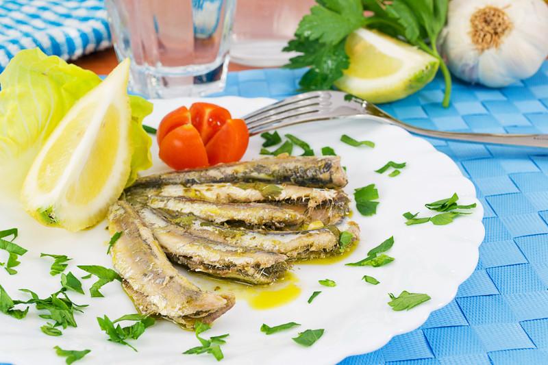 Menu tipico siciliano