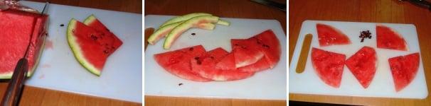 carpaccio di anguria