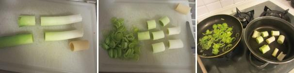 paccheri con porri mozzarella e zucca_proc1