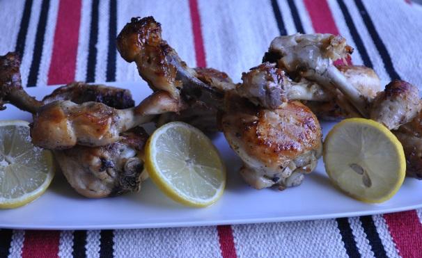 pollo con aglio e limone_