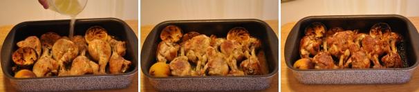 pollo con aglio e limone_proc4