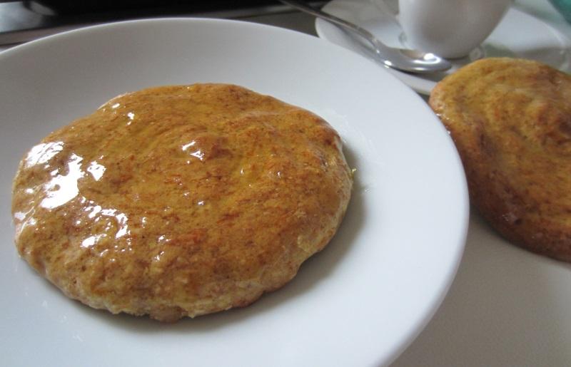 biscotti di zucca con glassa arancia