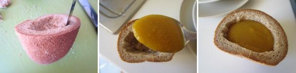 crema di zucca in crosta di pane_proc3
