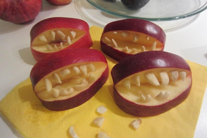 dentiere di mela