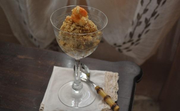 quinoa con gamberi e ceci_