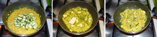 risotto curry e zucchine_proc3