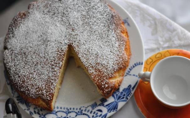 torta al limone e mandorle_