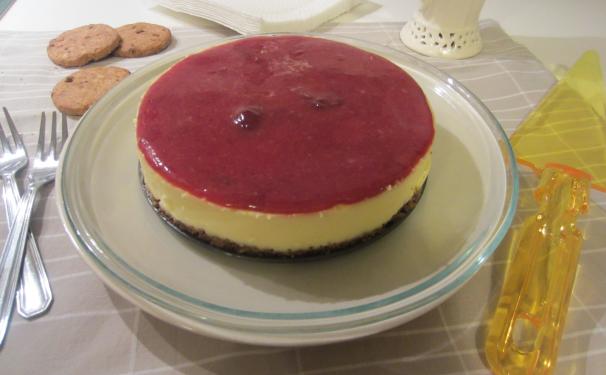 New York cheesecake_