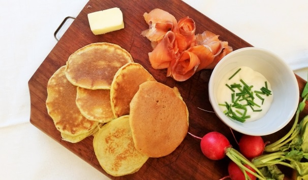 Pancake agli asparagi_