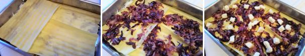 lasagne radicchio e taleggio_proc6