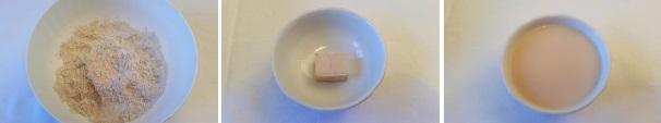 Pane integrale al mascarpone e miele_proc1