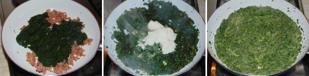 conchiglie con crema di spinaci_proc3