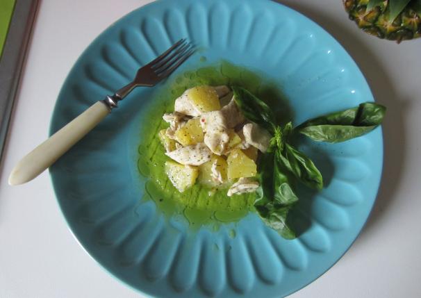 insalata calda di pollo_
