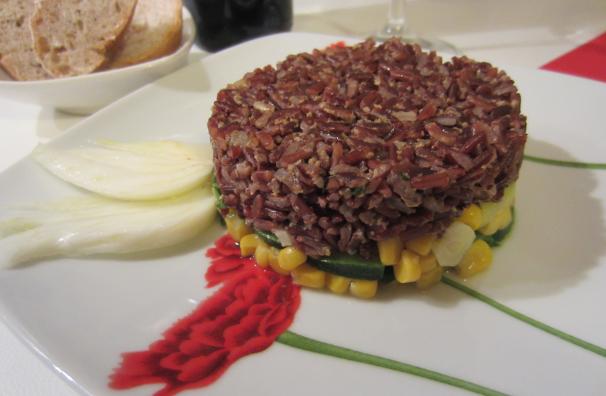 tortino di riso rosso_
