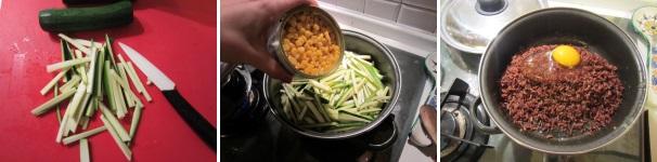 tortino di riso rosso_proc2